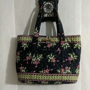 Vera Bradley quilted purse Lily of the Valley